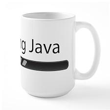 Installing Java (on white) Mugs