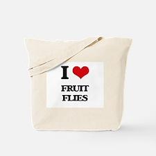 I Love Fruit Flies Tote Bag