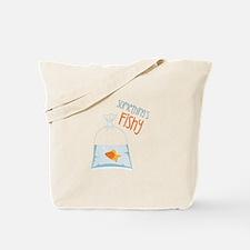Somethings Fishy Tote Bag