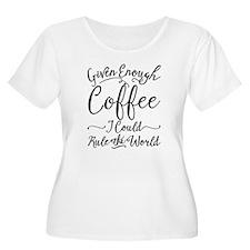 Given Enough Women's Scoop Neck Plus Size T-Shirt