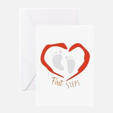 First Steps Greeting Cards