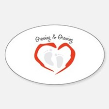 Growing & Growing Decal