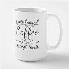 Given Enough Coffee Coffee MugMugs