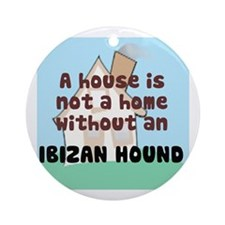 Ibizan Hound Home Ornament (Round)