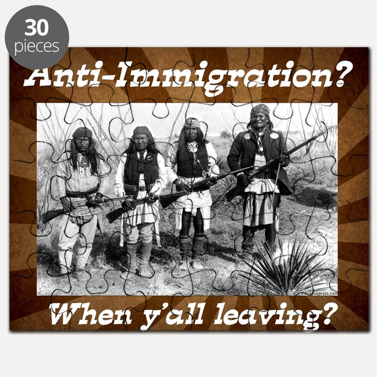 Cute Immigration Puzzle