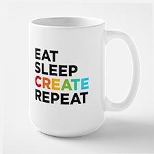 Eat Sleep Create Repeat MugMugs