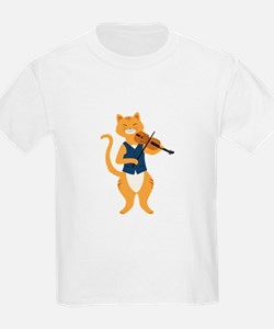 Fiddle Cat T-Shirt