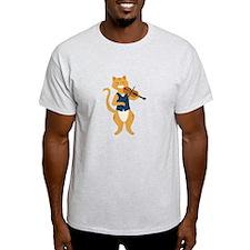 Fiddle Cat T-Shirt