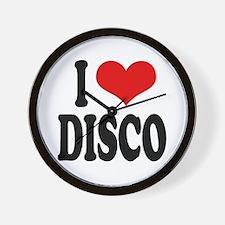 I Love Disco Wall Clock