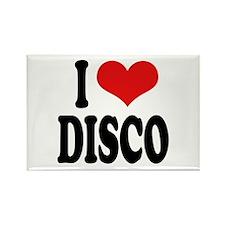 I Love Disco Rectangle Magnet