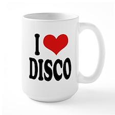 I Love Disco Coffee Mug