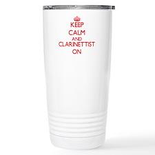 Keep Calm and Clarinett Travel Mug