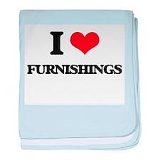 I Love Furnishings baby blanket