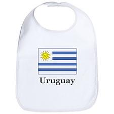Uruguayan Flag Bib