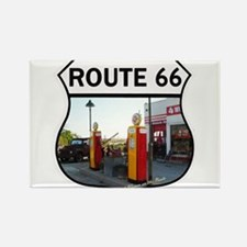 Cute Station wagon route 66 Rectangle Magnet