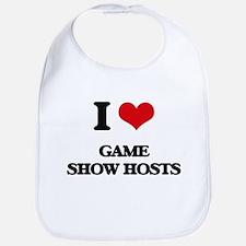 I Love Game Show Hosts Bib