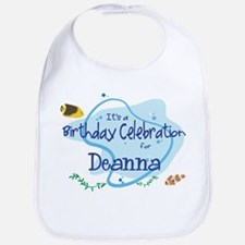 Celebration for Deanna (fish) Bib