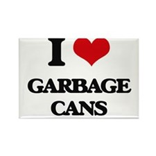 I Love Garbage Cans Magnets