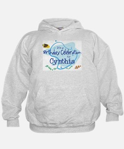 Celebration for Cynthia (fish Hoodie