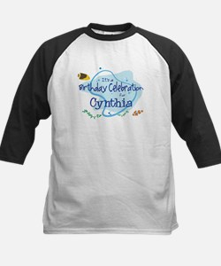 Celebration for Cynthia (fish Kids Baseball Jersey