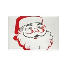 Cute Santa Rectangle Magnet