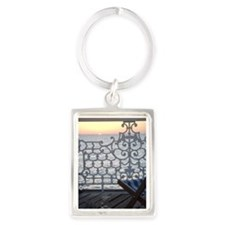 Fall Sunset Portrait Keychain