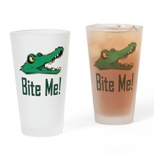 Cute A is for alligator Drinking Glass