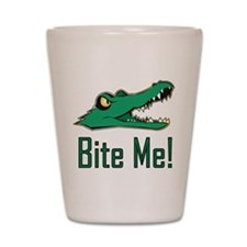 Unique A is for alligator Shot Glass