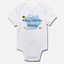 Celebration for Brenda (fish) Infant Bodysuit