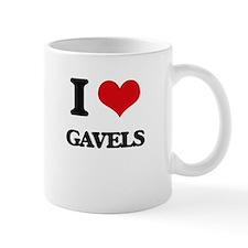 I Love Gavels Mugs