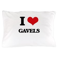 I Love Gavels Pillow Case