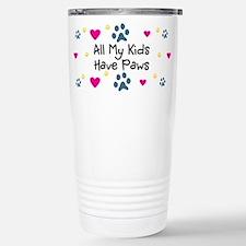 Cute Fur Thermos Mug