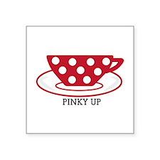 Pinky up Sticker
