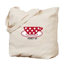 Pinky up Tote Bag