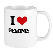 I Love Geminis Mugs