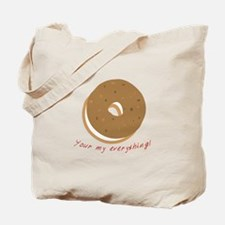 bagle_Your my everything! Tote Bag