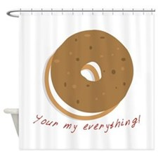 bagle_Your my everything! Shower Curtain