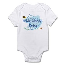 Celebration for Erica (fish) Infant Bodysuit