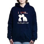 I Love My Boyfriend Women's Hooded Sweatshirt
