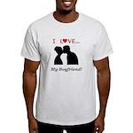 I Love My Boyfriend Light T-Shirt