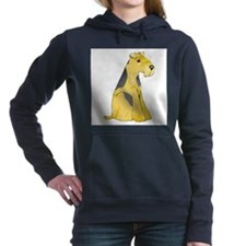 airedale-terrier.png Women's Hooded Sweatshirt