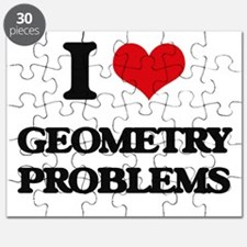 I Love Geometry Problems Puzzle