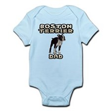 Boston Terrier Dad Onesie