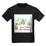 FIN-christmas-boxer... Kids Dark T-Shirt