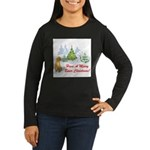 FIN-christmas-boxer... Women's Long Sleeve Dark T-