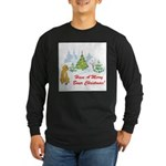 FIN-christmas-boxer... Long Sleeve Dark T-Shirt