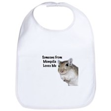 Someone From Mongolia Loves Me - Gerbil Bib