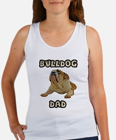 Bulldog Dad Women's Tank Top