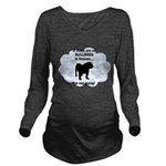 FIN-bulldogs-in-heaven.png Long Sleeve Maternity T
