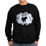 FIN-bulldogs-in-heaven.png Sweatshirt (dark)
